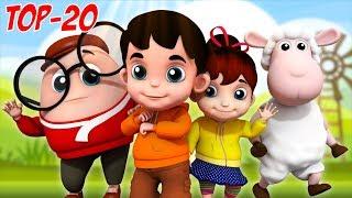 Junior Squad | Top 20 Nursery Rhymes | Kindergarten Songs | Baby Videos For Children By Kids Tv