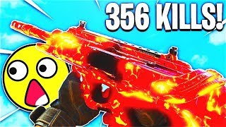 356 KILLS NUCLEAR GAMEPLAY... (UNLIMITED AMMO MOD BEST CLASS SETUP) - COD BO4