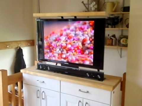 ikea tv lift - YouTube
