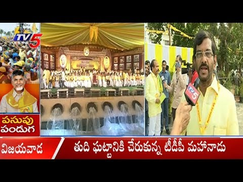 Somireddy Chandramohan Reddy Face To Face | TDP Mahanadu 2018 | TV5 News