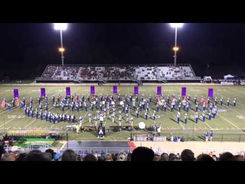 Arab High School Marching Band Performance at the 50th Annual MidSouth Marching Festival
