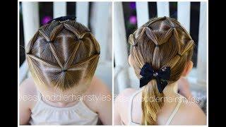 4 Way Split Elastic Hairstyle for Kids