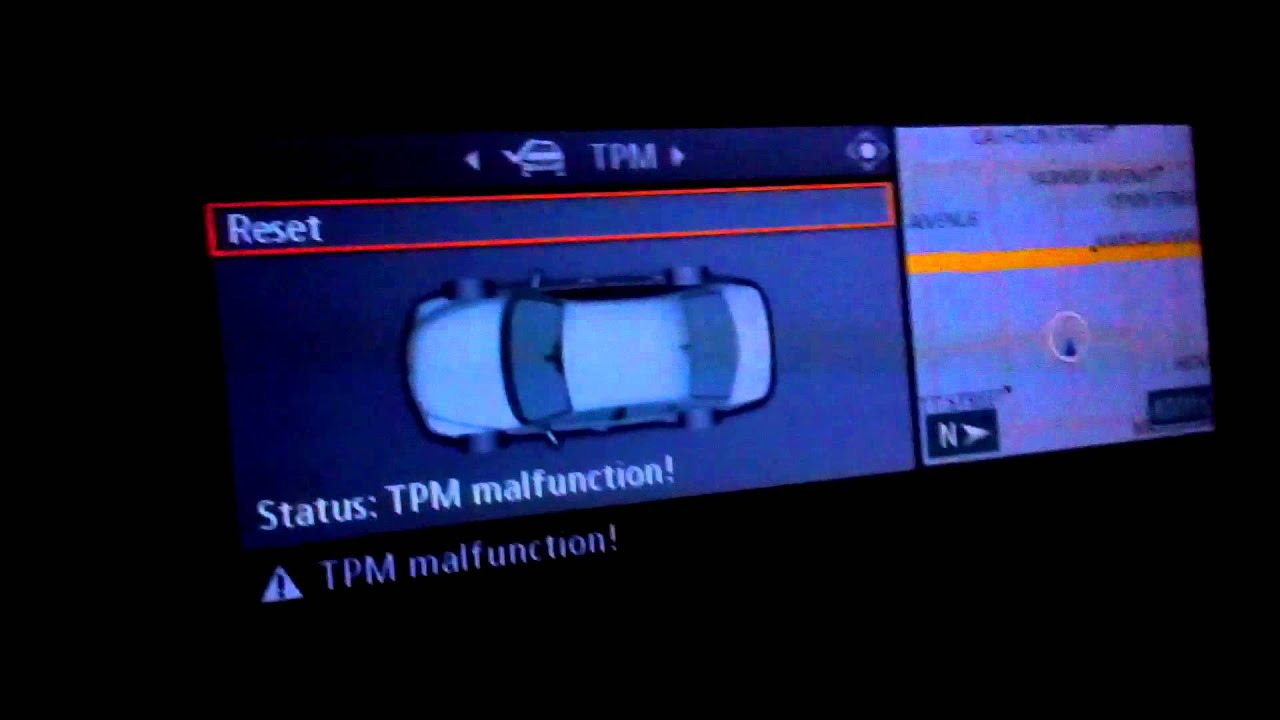 Tire Pressure Monitor >> TPM MALFUNCTION - YouTube