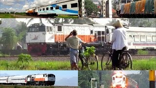 Kereta Api Indonesia XI (Video Compilation of Indonesian Train)