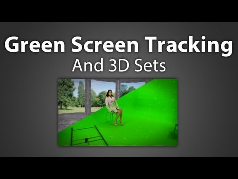 After Effects: Green Screen Tracking and 3D sets