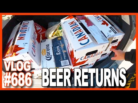 Thanks For the Amazing Support, Beer Bottle Returns, Massage, Workout - Ken's Vlog #686