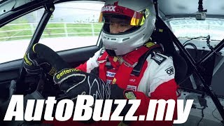 Hot Lap with Tengku Djan, Toyota Gazoo Racing MAEPS Track  - AutoBuzz.my