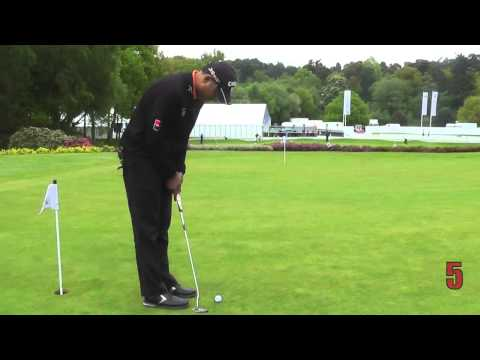 Golf Monthly Putting Challenge - Jeev Milkha Singh