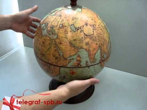 Как сделать бар глобус своими руками из подручных материалов 13