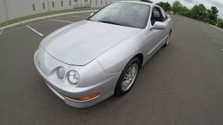 4K Review 1998 Acura Integra GS 39K Virtual Test-Drive and Walk-around