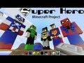 Minecraft Superhero Hall Of Justice