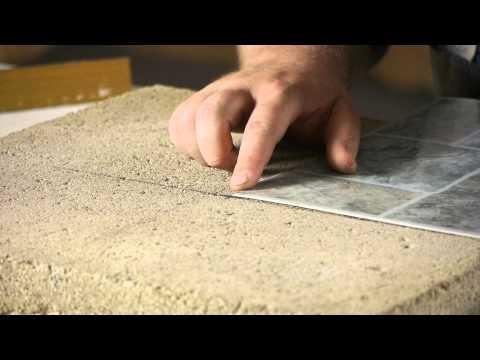 how to lay stick down vinyl tiles on concrete floors flooring help