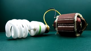Free energy 100% electric Dynamo generator 100% Real   New Technology Experiment Projects at School
