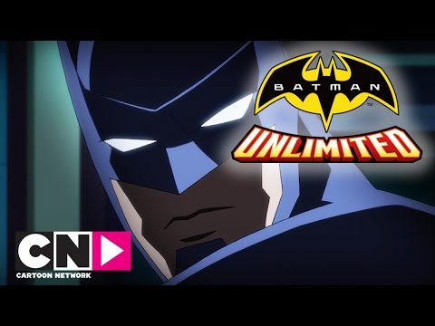 Batman Unlimited | Bank Robbery Gone Wrong | Cartoon Network