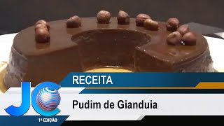 Pudim de Gianduia