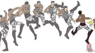 Attack on titan dance video
