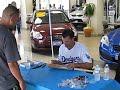 Jamey Carroll Signing Autographs