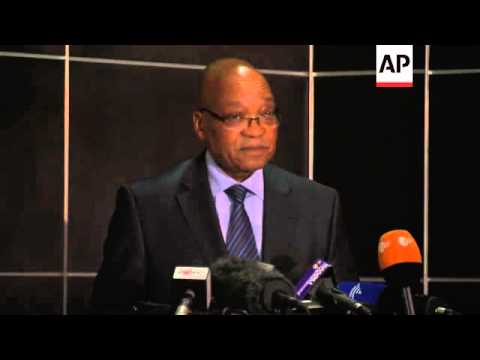 Zuma comments on miners' shooting, sets up inquiry into 34 deaths