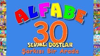 ABC Alfabe   Çizgi Film Eğitici Çocuk Şarkıları   Sevimli Dostlar   Adisebaba TV