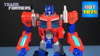 OPTIMUS PRIME: TRANSFORMERS CYBER COMMANDER SERIES | GENERATIONS 2015