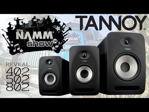Tannoy Reveal Monitors at Namm 2014