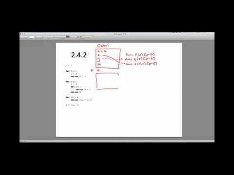 [CS61A - Sp15] Discussion 1 - Question 2.4.2 - Environment Diagram