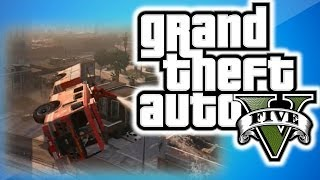 GTA 5 Online Multiplayer Funny Moments 6 - Banana Bus, Vanoss' Apartment, and Epic Jumps!