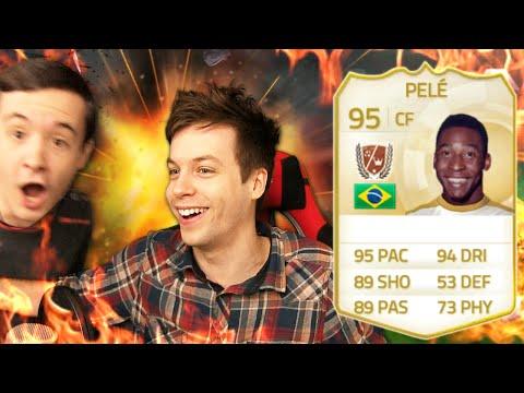 PELE IN A PACK PRANK!!!! - FIFA 15 Ultimate Team Pack Opening