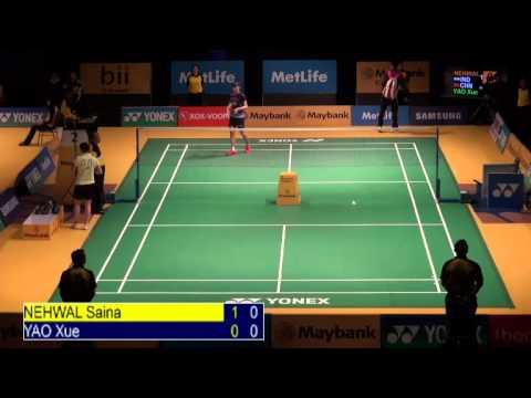 R16 - WS - YAO Xue vs Saina NEHWAL - 2014 Malaysia Badminton Open