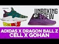 UNBOXING+REVIEW - Adidas X Dragon Ball Z - 'Cell X Gohan'