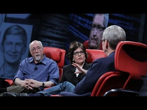 Apple CEO Tim Cook on Apple TV - Apple TV Still an Experiment - D10 Conference
