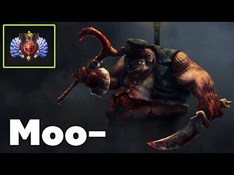 Moo Pro Pudge Offlane Rank Top 100 Dota2