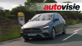 Mercedes-Benz B-Klasse (2019) - Test - Autovisie TV