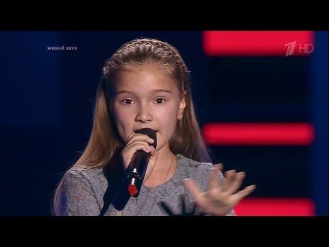The Voice Kids Russia 2016. Arina (Арина Ерохина) — «Зурбаган». Голос Дети 3