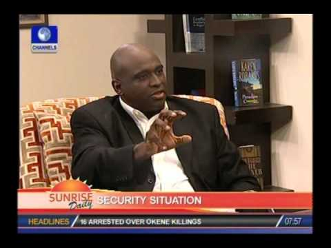 SUNRISE DAILY: Nigeria needs to create Department of Homeland Security-Ex US Army Officer PART 4