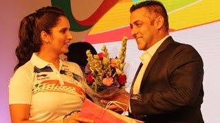 Salman Khan Sends Off Indian Athletes For Rio Omlypics 2016 Pics - Sania Mirza