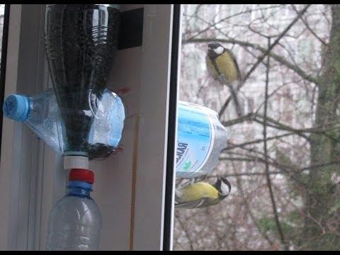 Кормушки для птиц своими руками на балконах 22