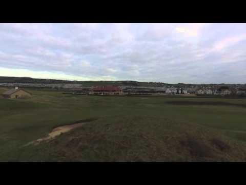 Drone test Royal Portrush Golf Club