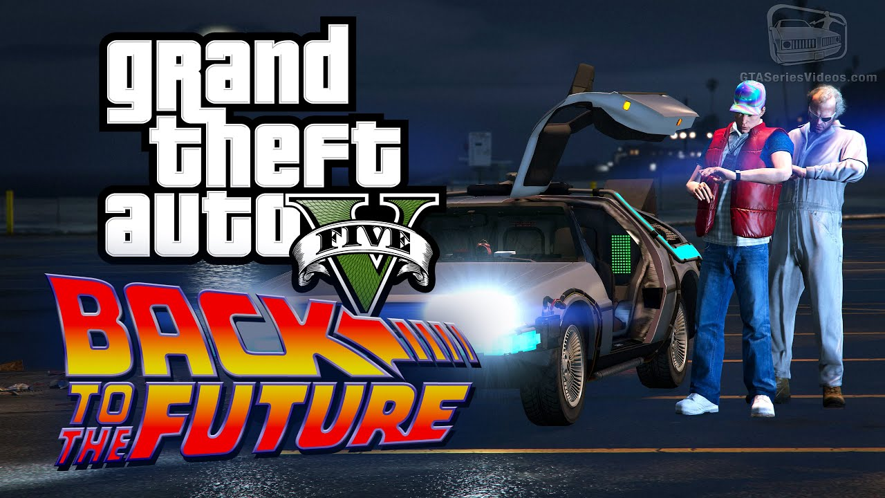 Its Back To The Future Day In Grand Theft Auto