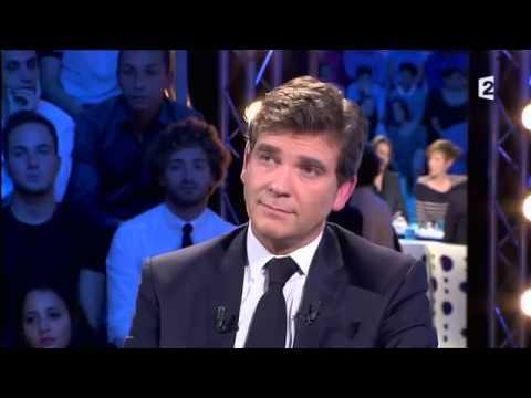 On n'est pas couché - Arnaud Montebourg 21/09/13 #ONPC