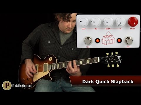 JHS Pedals The Milkman Slapback Echo and Boost