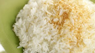 Thai Coconut Rice Recipe ข้าวมัน - Hot Thai Kitchen!