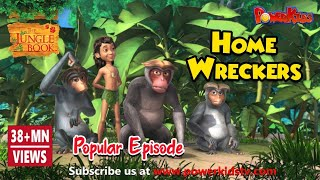 jungle book hindi Cartoon for kids | hindi kahaniya for kids | Mogli Cartoon Hindi |  home wreckers