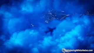 White Noise Airplane | Sleep, Study, Focus | 10 Hours Jet Cabin Sound