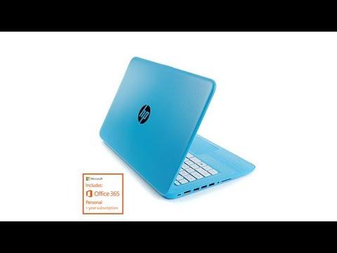 "HP Stream 14"" HD Intel 4GB RAM, 32GB eMMC Windows 10 Lap..."