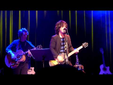 Billy Joe Armstrong Performing american Idiot  Acoustic- 4 - A -cure  The Fillmore San Francisco video