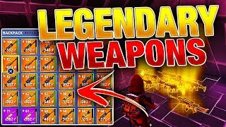 How To Get BEST LEGENDARY Weapons & Heroes! *EASY & FREE* | Fortnite Save the World