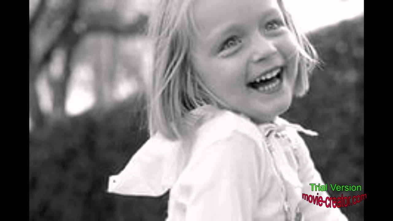 Дети на черно-белых фото