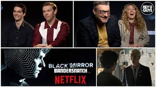 Black Mirror: Bandersnatch - Fionn Whitehead, Will Poulter & Charlie Brooker reveal the secrets