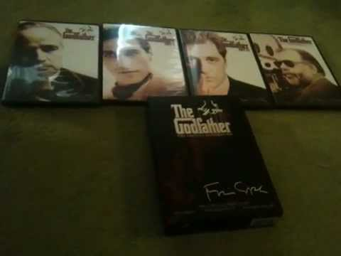 The Godfather The Coppola Restoration Unboxing